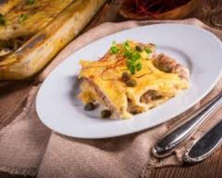 Cannelloni de coquilles Saint-Jacques et colin